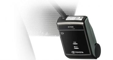 Toyota genuine dashcam