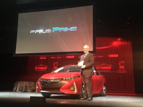 The Toyota Prius Prime uses a unique energy-saving heat pump design helping extend cold-weather driving range by 21 per cent.