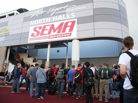 Top five manufacturer unveils at SEMA Show 2017