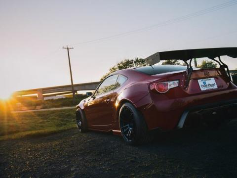 Featured Vehicle: Rocket Bunny Scion FR-S