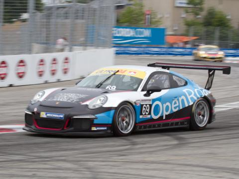 Scott Hargrove of OpenRoad Racing extends lead in Porsche GT3 Cup Challenge