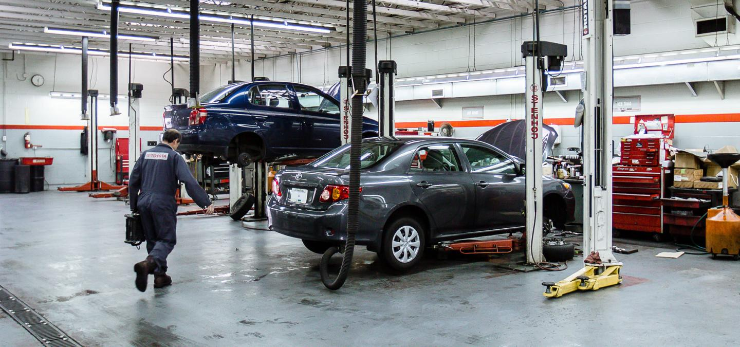 Service with OpenRoad Toyota Richmond