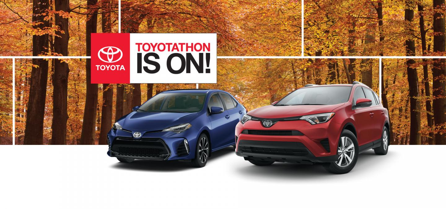 2018 Toyotathon Is On! at OpenRoad Toyota Richmond