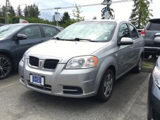 2007 Pontiac Wave Base 4Dr