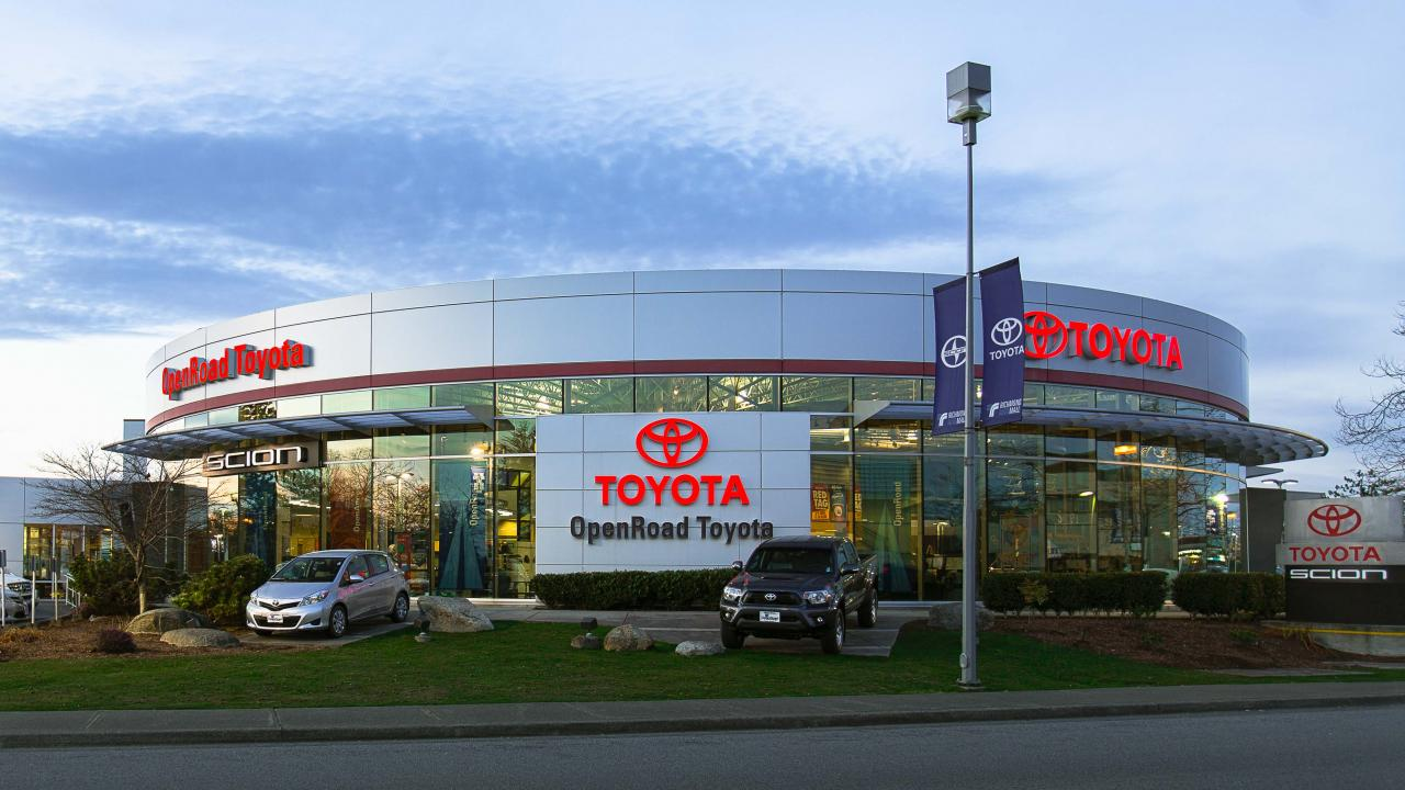 Toyota Cars for Sale in Greater Vancouver | OpenRoad Toyota