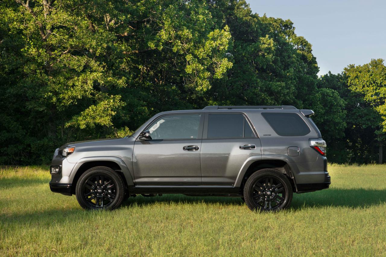 2019 Toyota 4Runner side