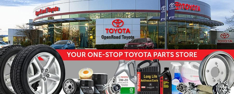 Your One Stop Toyota Parts & Accessory Store