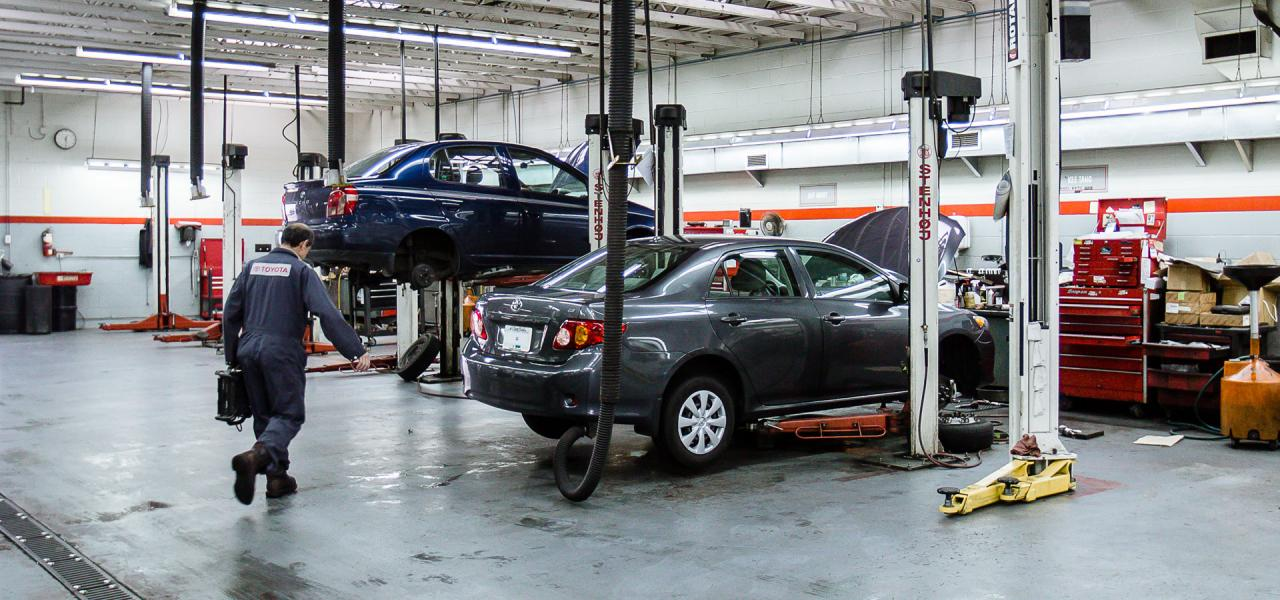Parts and Accessory Store at OpenRoad Toyota Richmond