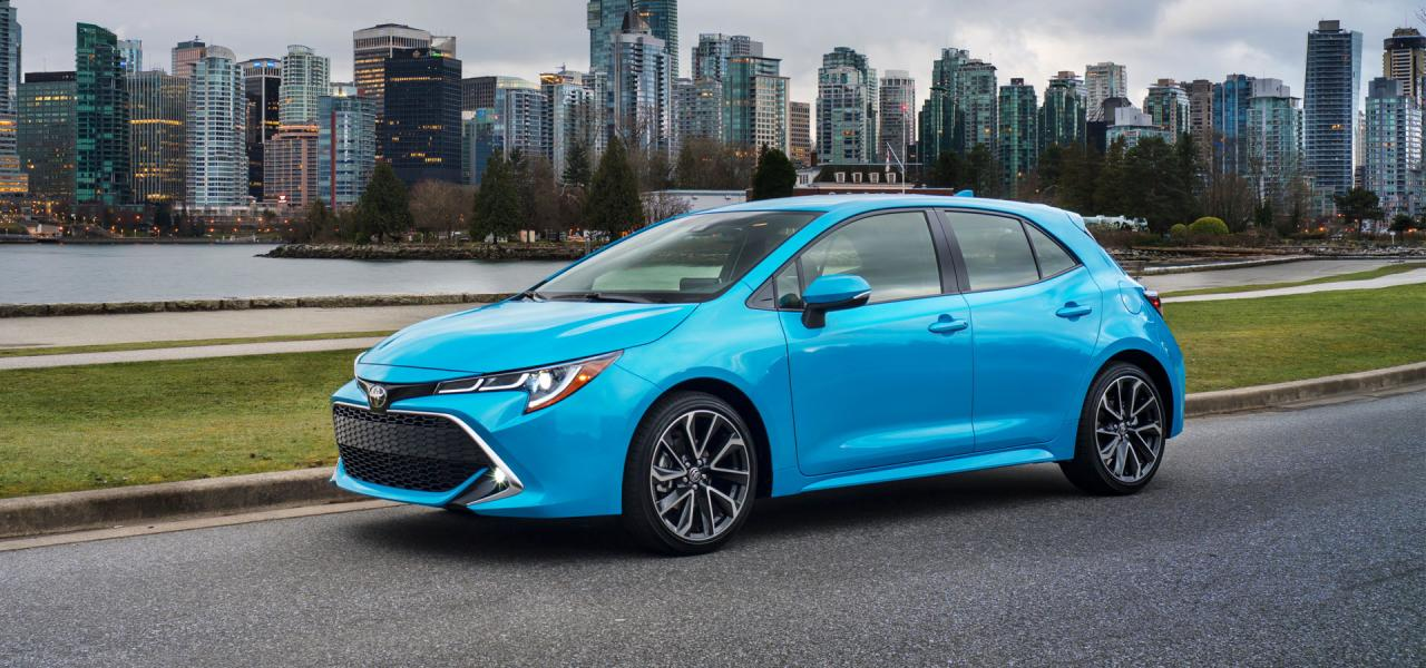 2019 Corolla Hatchback available at OpenRoad Toyota Richmond