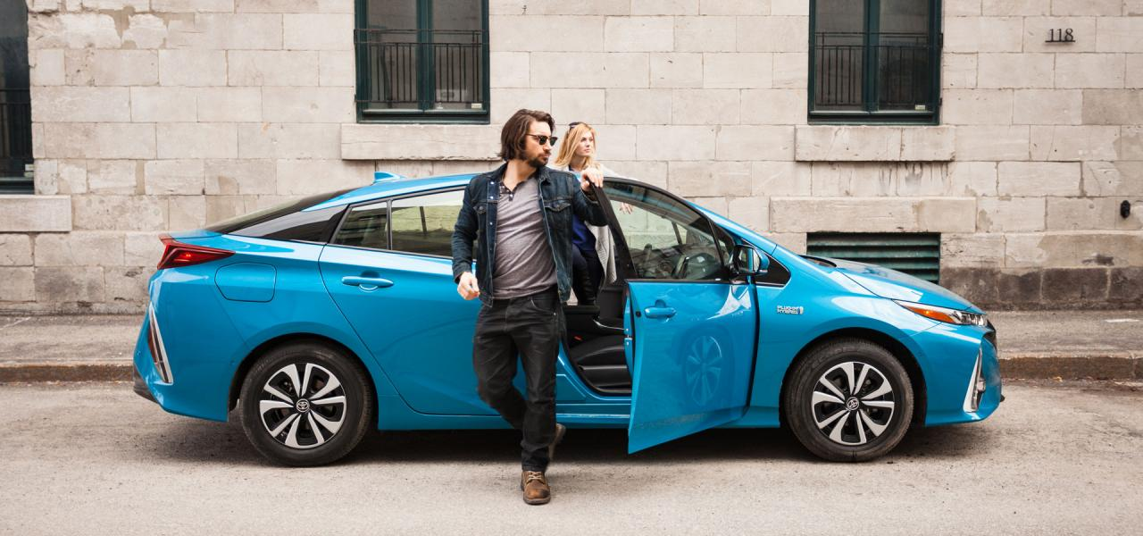 The 2018 Prius Prime available at OpenRoad Toyota Richmond