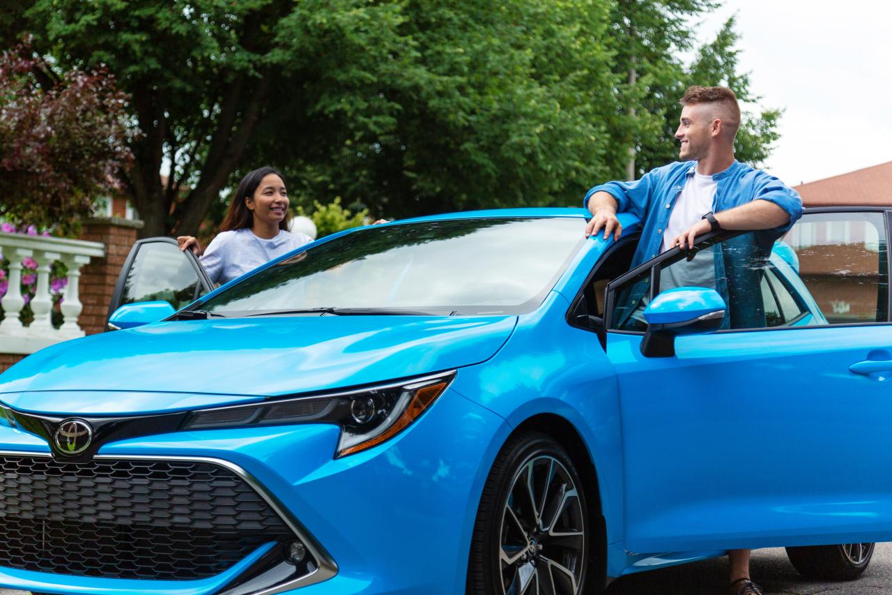 The New 2019 Corolla Hatchback Gallery 2