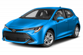 2019 Toyota Corolla Hatchback Manual