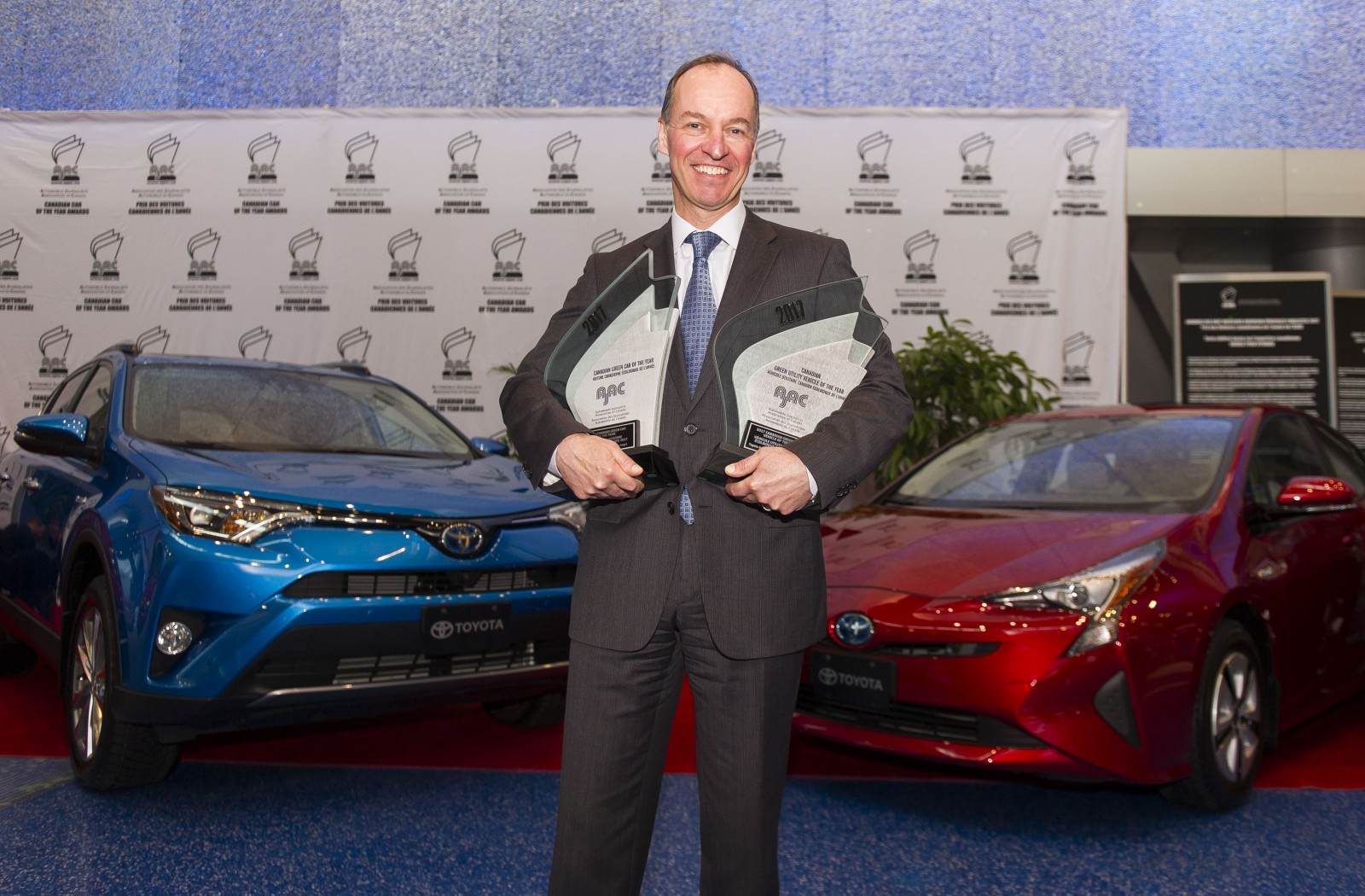 AJAC green vehicle of year 2017 Toyota