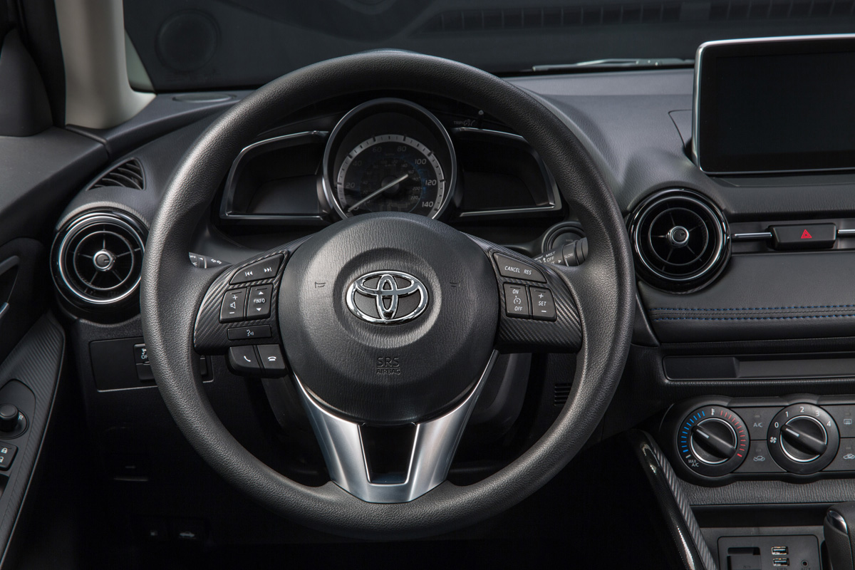 2016 Toyota Yaris Sedan interior